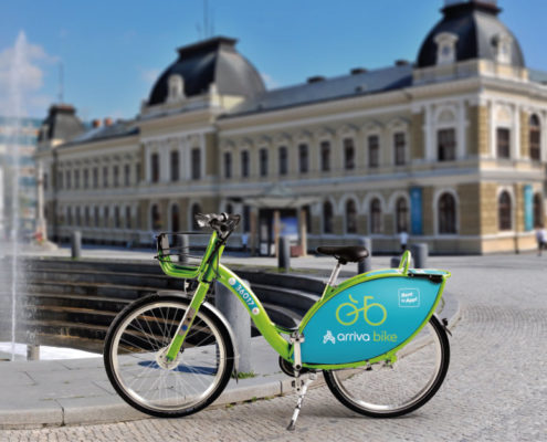 arriva bike, bicykel, bicyklovanie, Nitra, bikesharing
