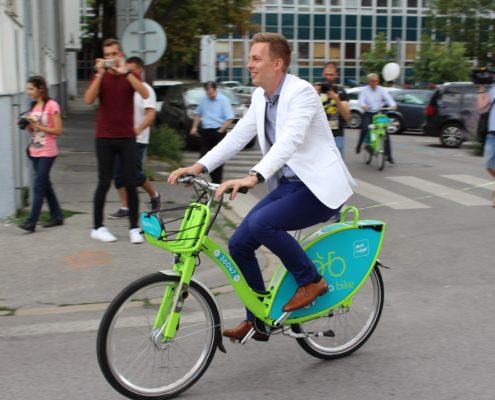 arriva bike, bicykel, bikesharing, Nitra, bicyklovanie
