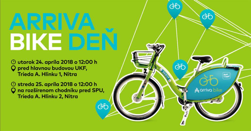Arriva bike deň 2018