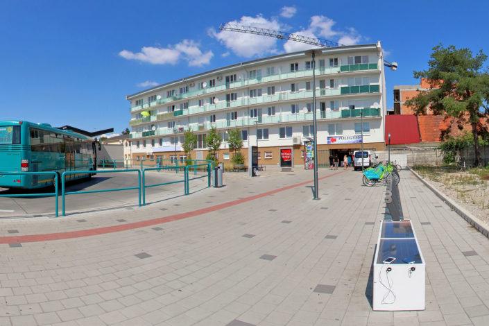 arriva bike stanovište č. 5300 - Autobusová stanica