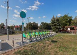 arriva bike stanovište č. 5306 - Chrenovský most