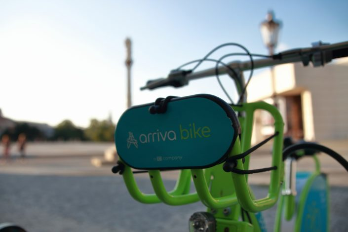 arriva bike stanovište č. 5301 - Svätoplukovo námestie