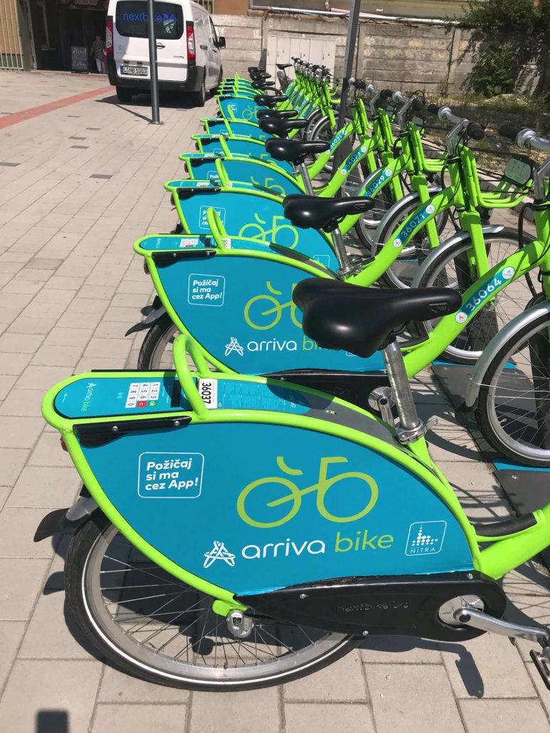 Bikesharing v Nitre